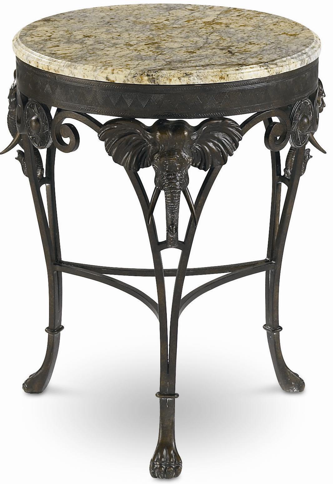 Thomasville® Ernest Hemingway Elephant Accent Table ...
