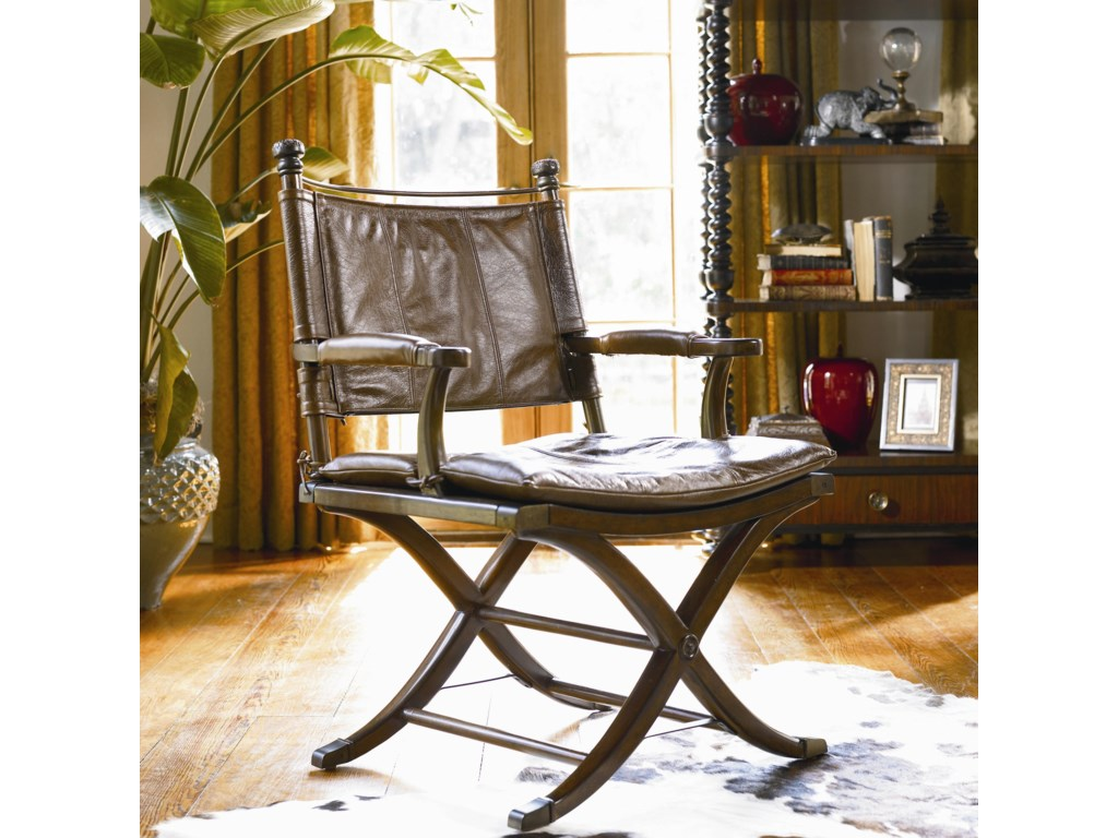 Safari Desk Chair Shown With Writing