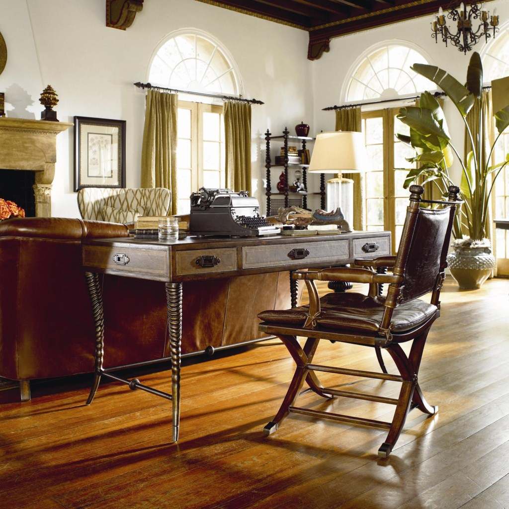 thomasville ernest hemingway safari desk chair adcock furniture safari desk chair shown with writing desk