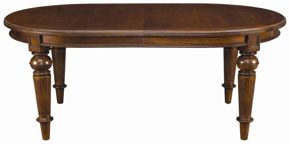 ThomasvilleR Fredericksburg Oval Dining Table With Two 20 Leaves