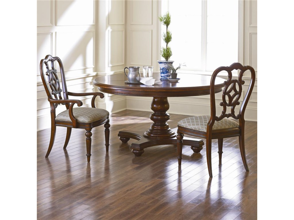 Shown with Matching Side Chair and Round Dining Table