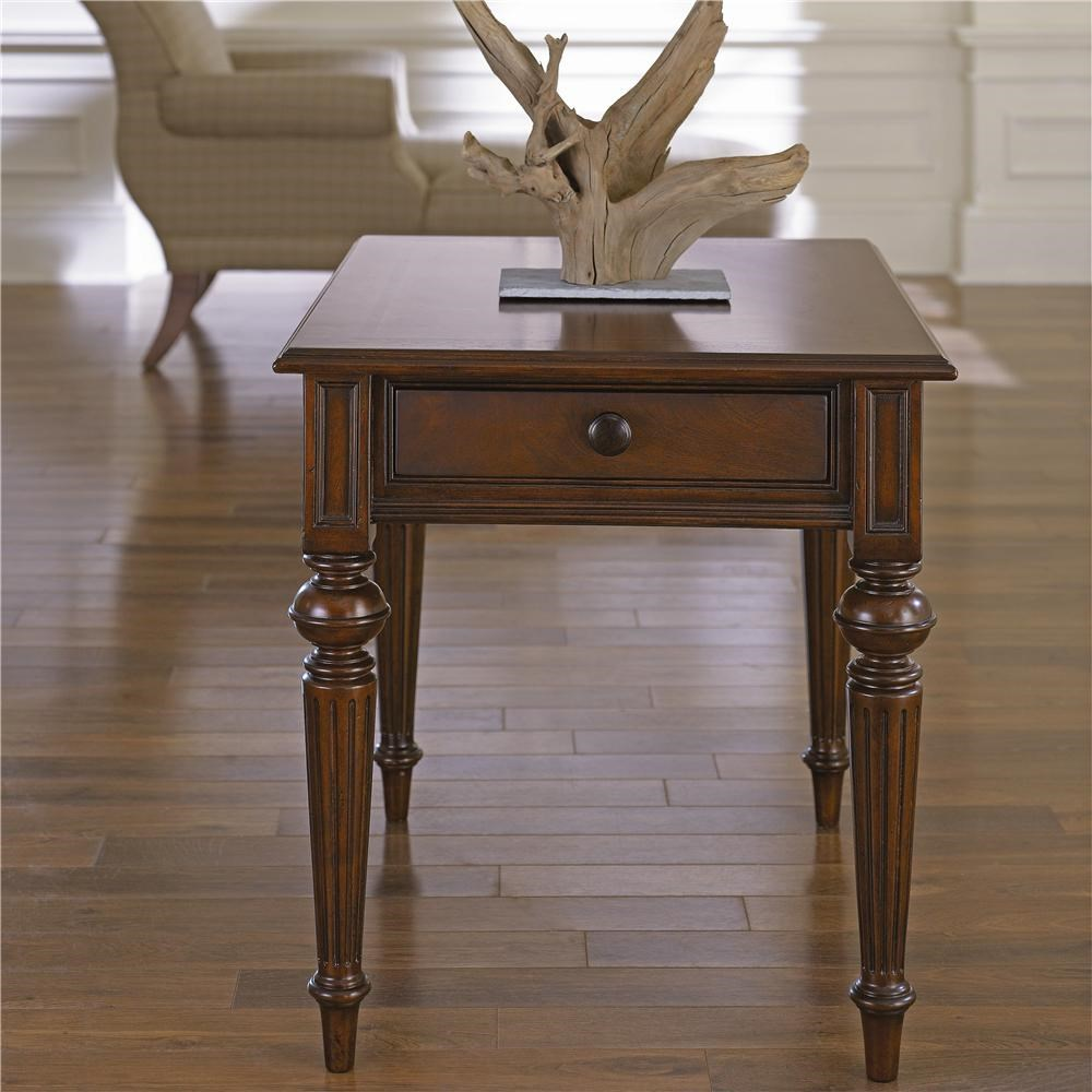 Fredericksburg Rectangular End Table With One Drawer By Thomasville®