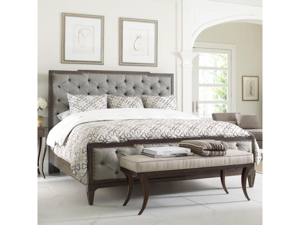 Thomasville® Harlowe & Finch Mirabeau King Sized Bed with ...