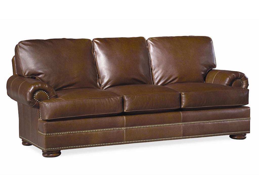 Thomasville Leather Choices Ashbyselect Sofa