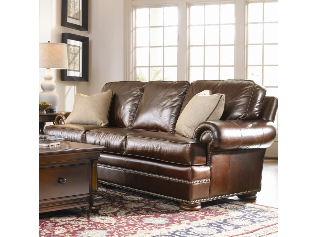 Thomasville Leather Choices Ashbyselect Sofa