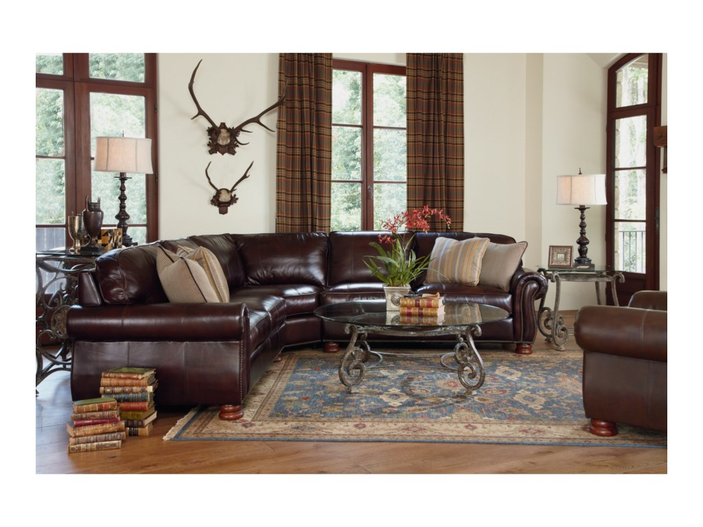 Thomasville Leather Choices Benjaminleather Select Sectional