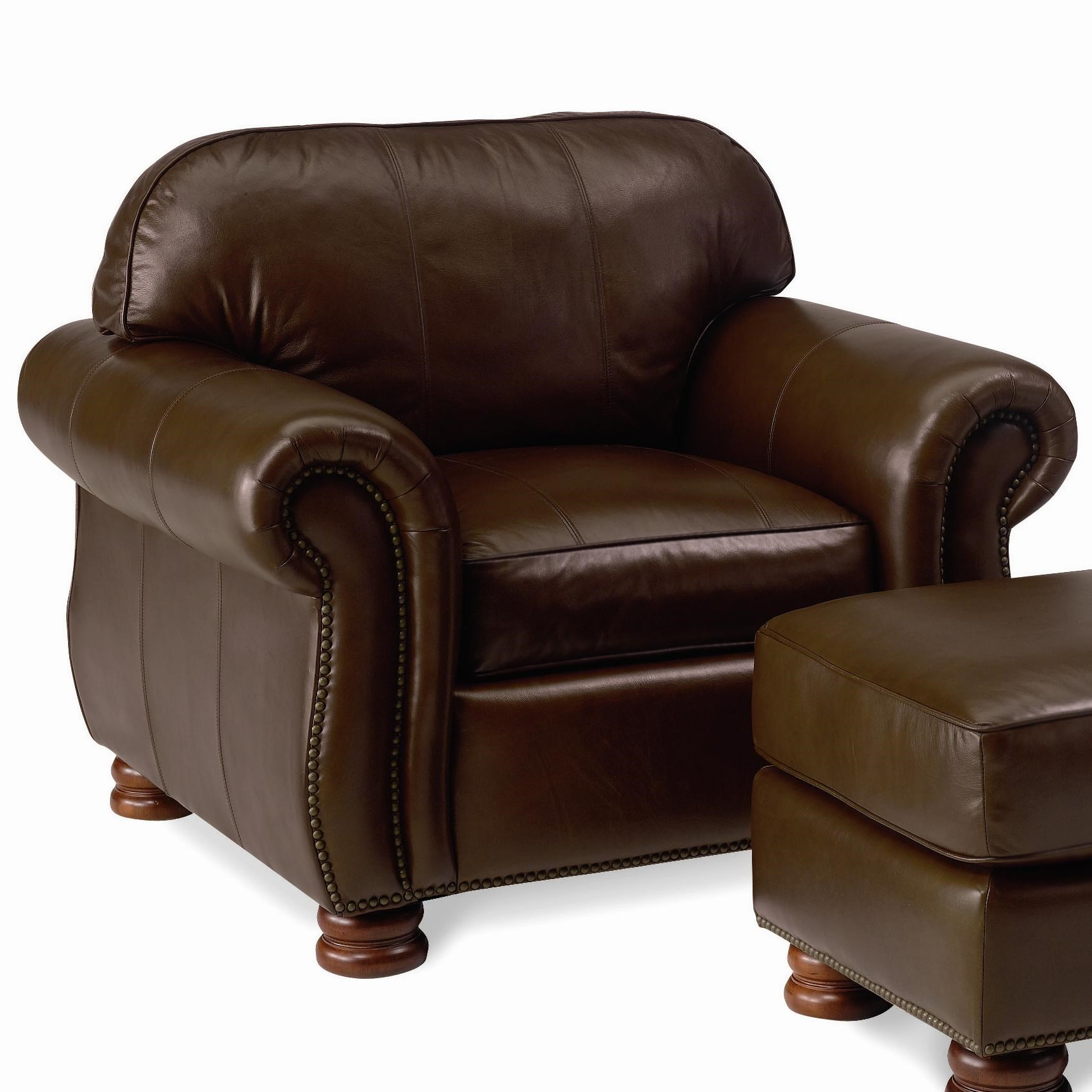 Lovely Thomasville® Leather Choices   BenjaminLeather Select Chair ...