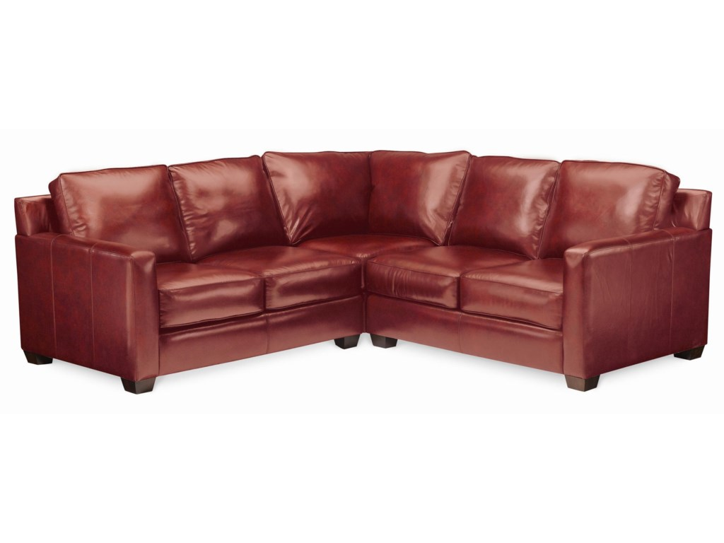 Thomasville Leather Choices Metroselect Plus Sectional