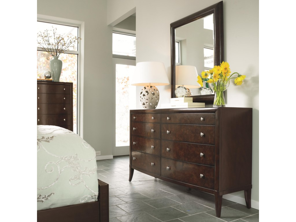 Shown with Dresser and Mirror
