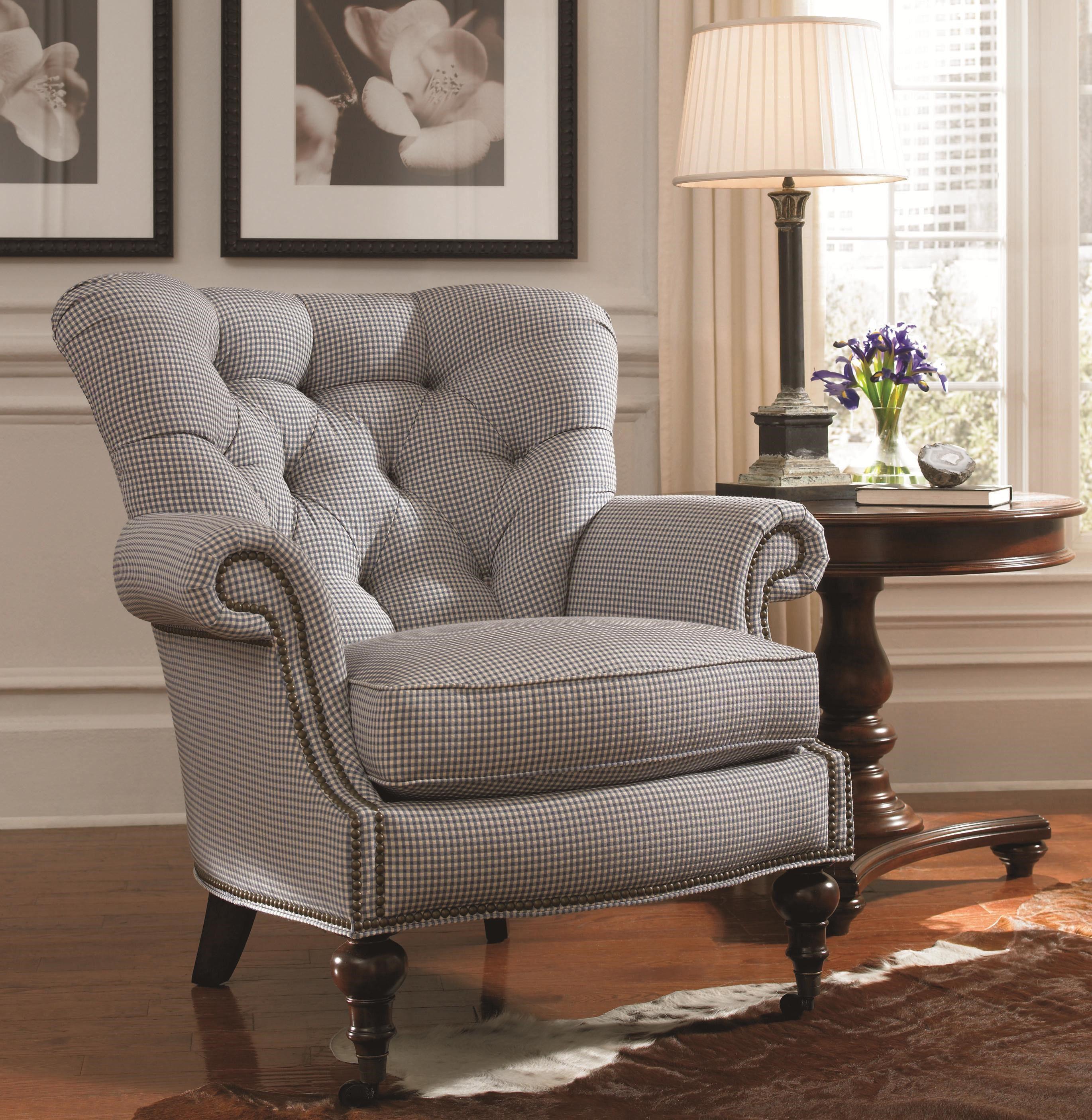 Ordinaire Shown With Coordinating Upholstered Ottoman; Thomasville® Upholstered Chairs  And OttomansVienna Tufted Back Chair ...
