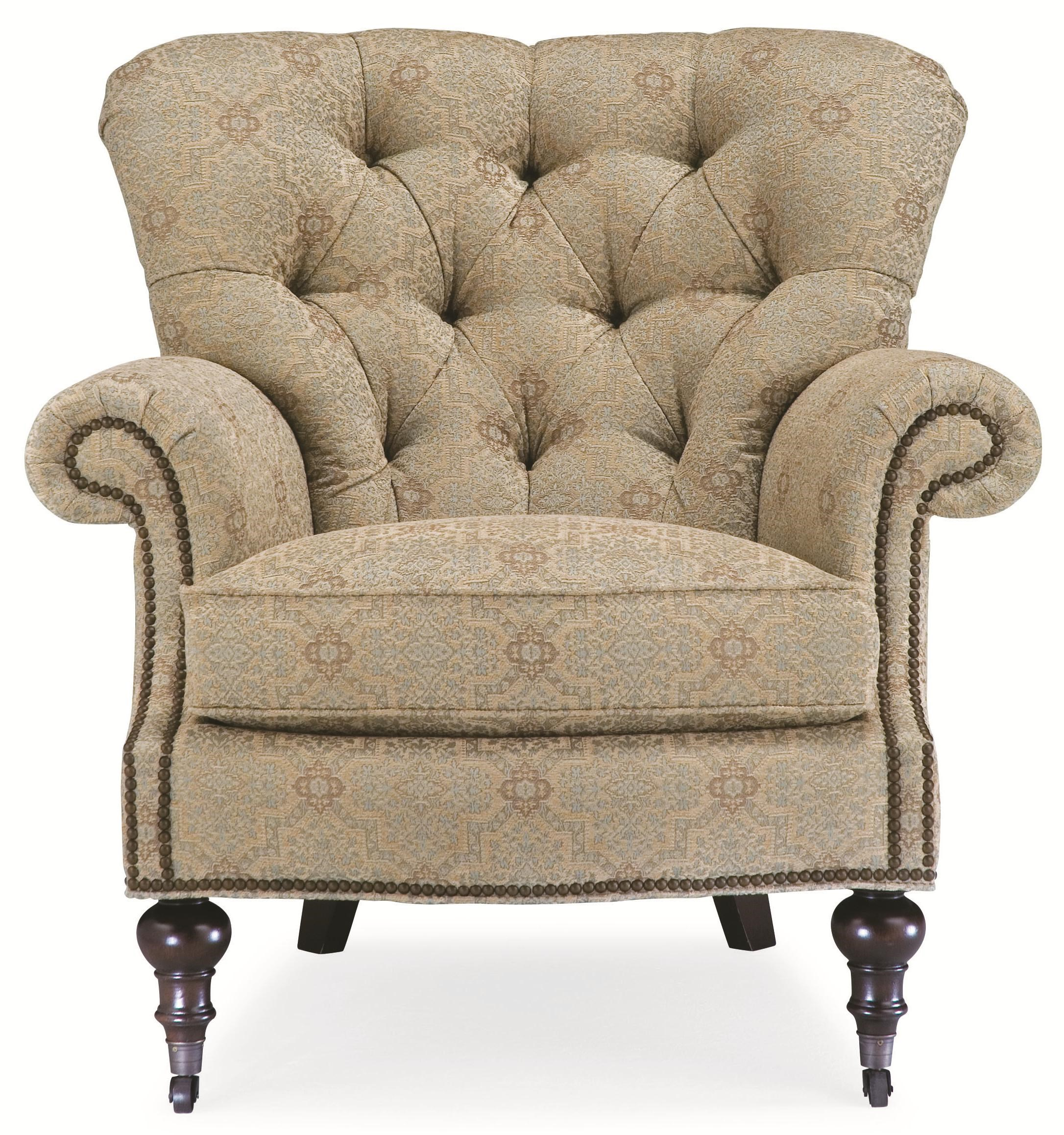 ... Thomasville® Upholstered Chairs And OttomansVienna Tufted Back Chair ...