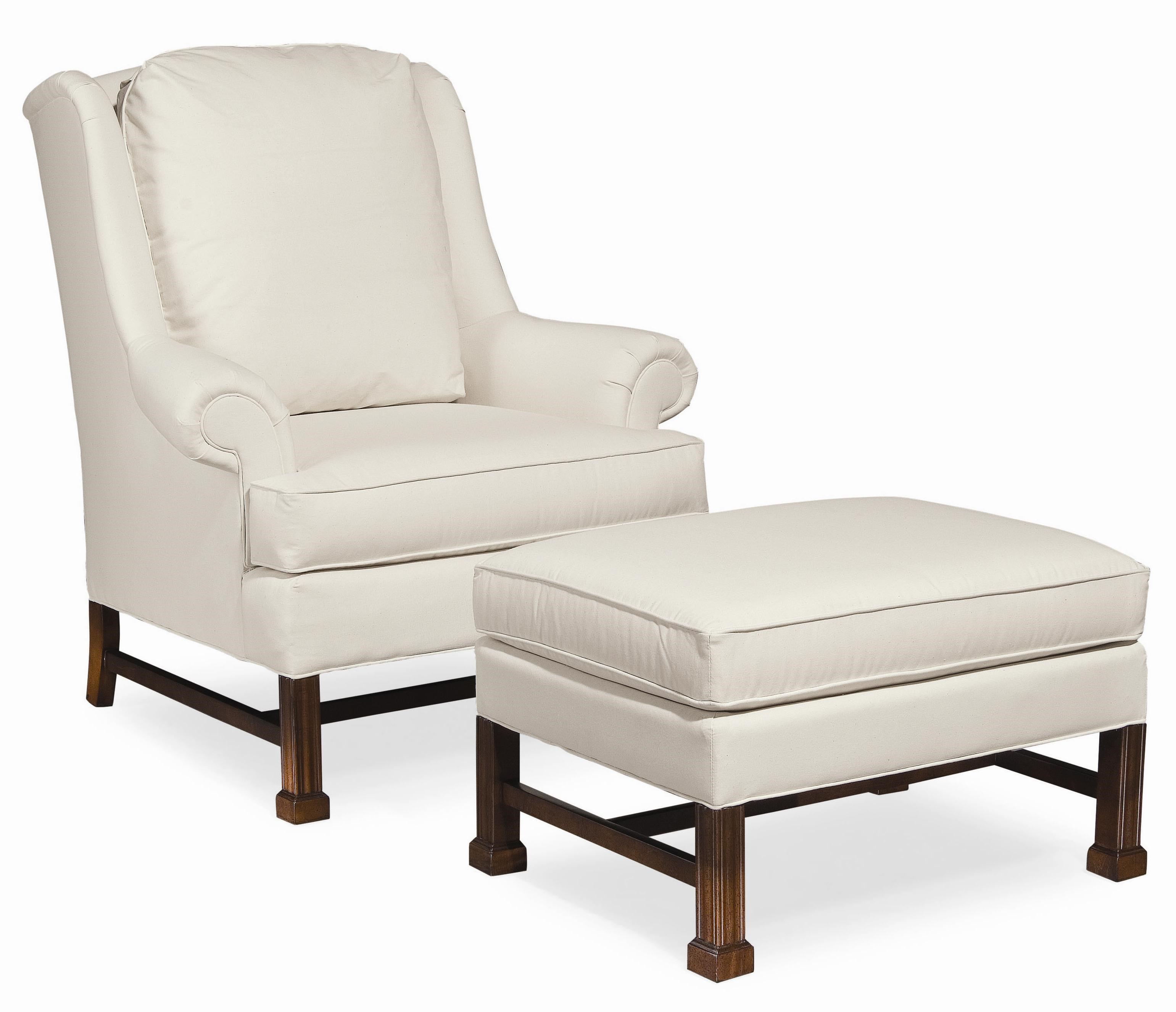 Upholstered Chair And Ottoman thomasville® upholstered chairs and ottomans jamison upholstered