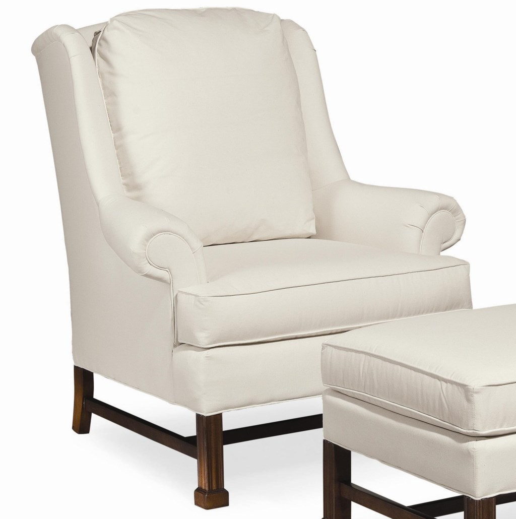 Upholstered Chair And Ottoman thomasville® upholstered chairs and ottomans jamison chair with