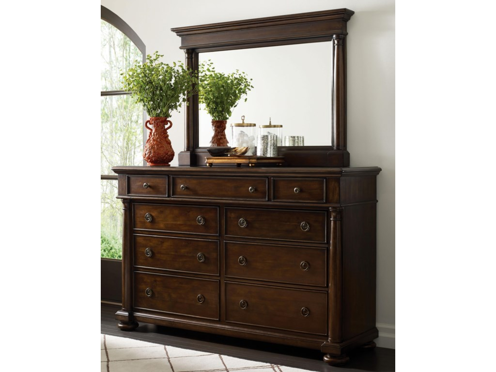 Thomasville® Wheatmore ManorDresser and Mirror