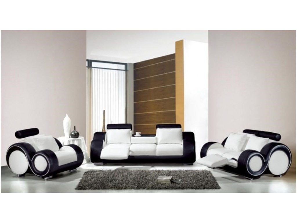 L25 Contemporary Living Set by Titanic Furniture at Dream Home Interiors