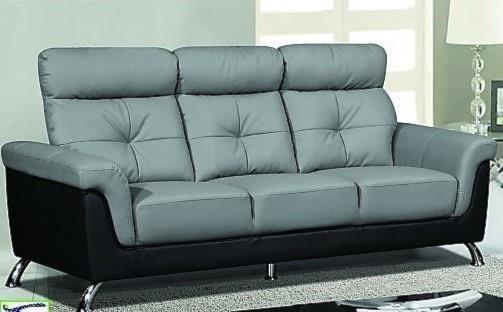 Titanic Furniture L522 Contemporary Wing Sofa Grey Dream Home