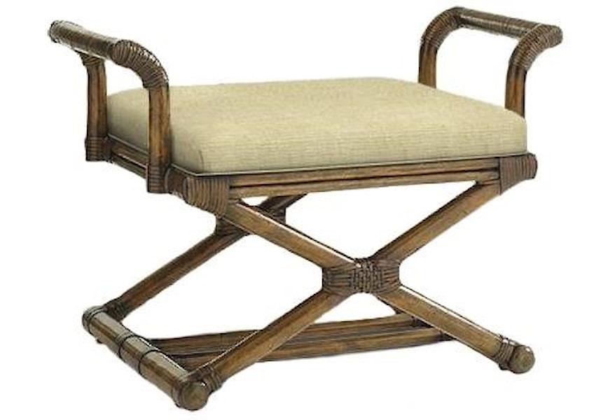 Bali Hai Bench by Tommy Bahama Home at HomeWorld Furniture