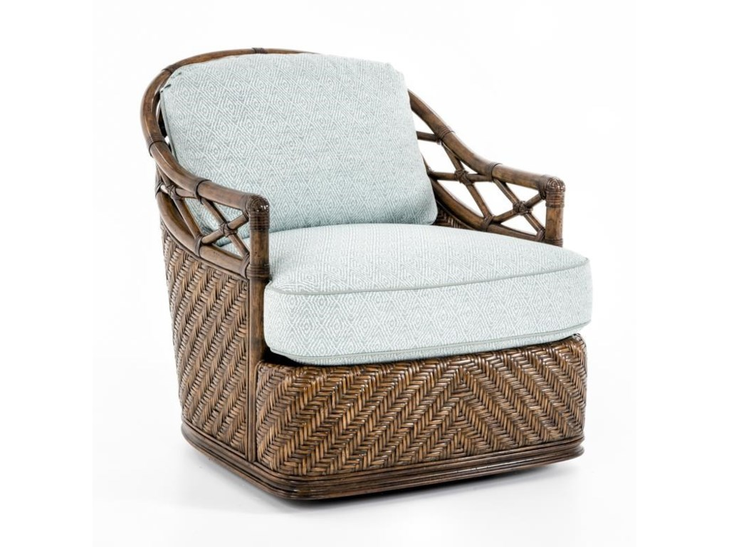 Tommy Bahama Home Bali HaiDiamond Cove Swivel Chair