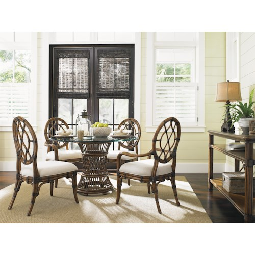 Tommy Bahama Home Bali Hai Formal Dining Room Group