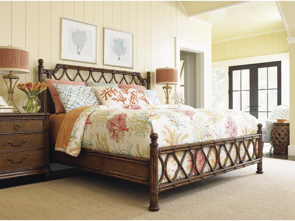 Tommy Bahama Home Bali HaiIsland Breeze California King Bed