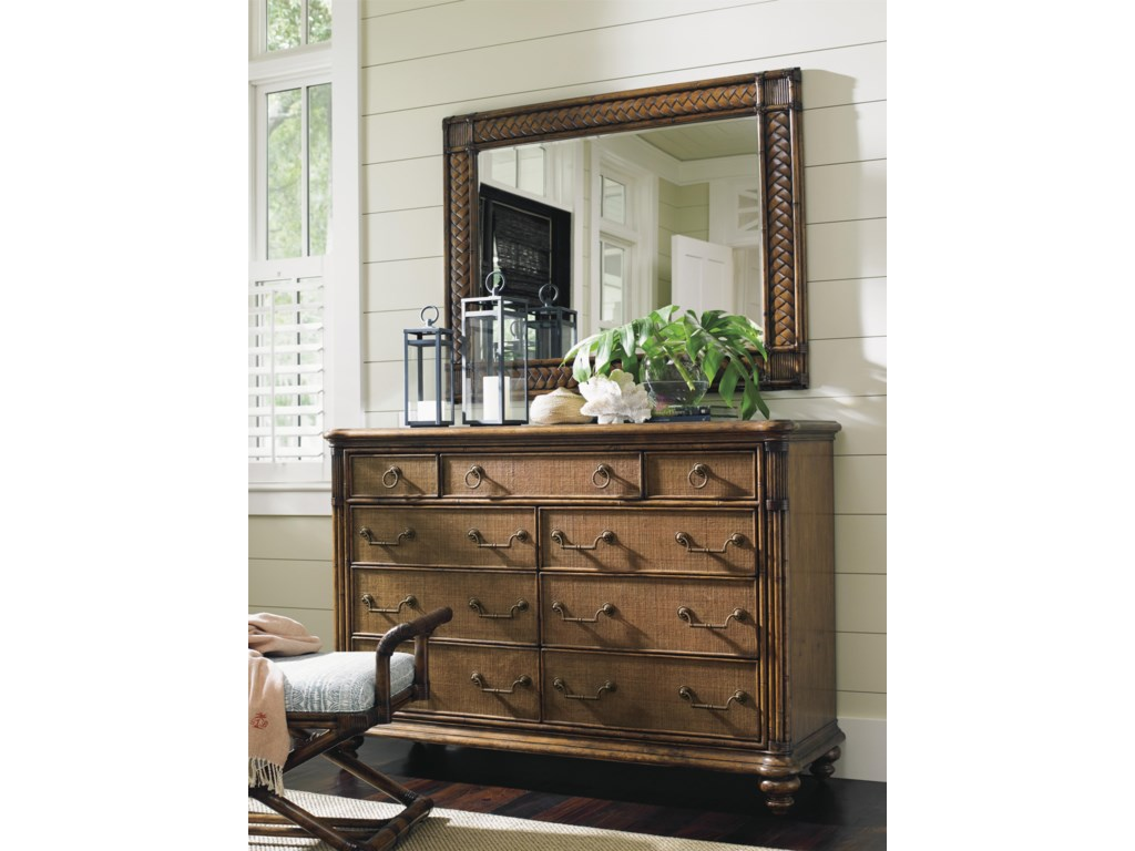 Tommy Bahama Home Bali HaiBreakers Double Dresser