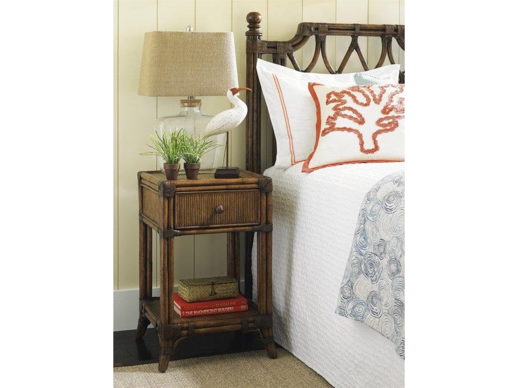 Tommy Bahama Home Bali HaiDel Sol Bedside Table