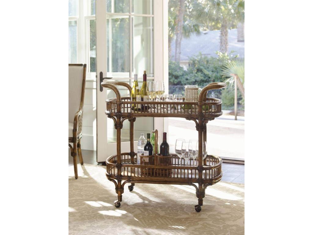 Tommy Bahama Home Bali HaiVeranda Bar Cart