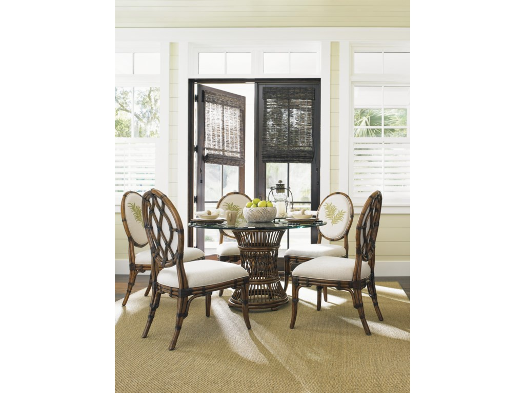 Tommy Bahama Home Bali HaiTropical 7 Piece Dining Set