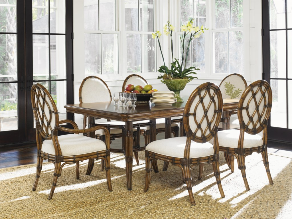 Bali Hai Tropical 7 Piece Dining Set