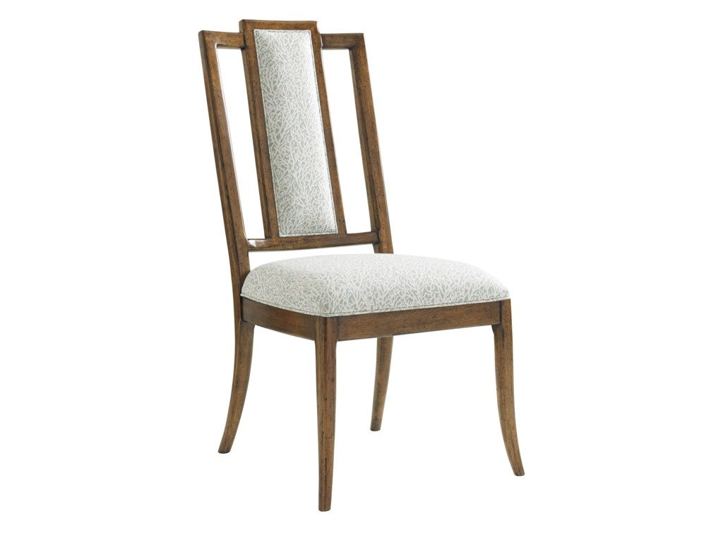 Tommy Bahama Home Bali HaiQuickship St. Bart's Side Chair