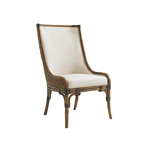 Tommy Bahama Home Bali Hai Quickship Marabella Upholstered Side Chair