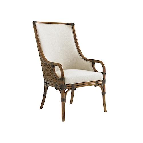 Tommy Bahama Home Bali Hai Marabella Upholstered Arm Chair
