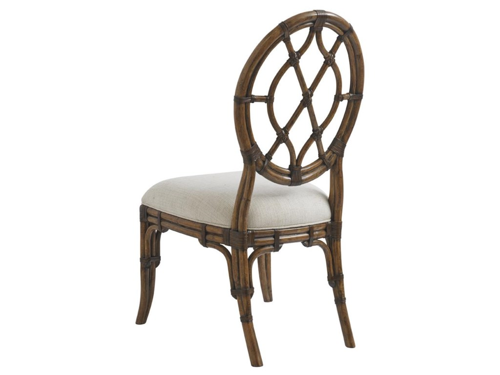 Tommy Bahama Home Bali HaiCustom Cedar Key Oval Back Side Chair