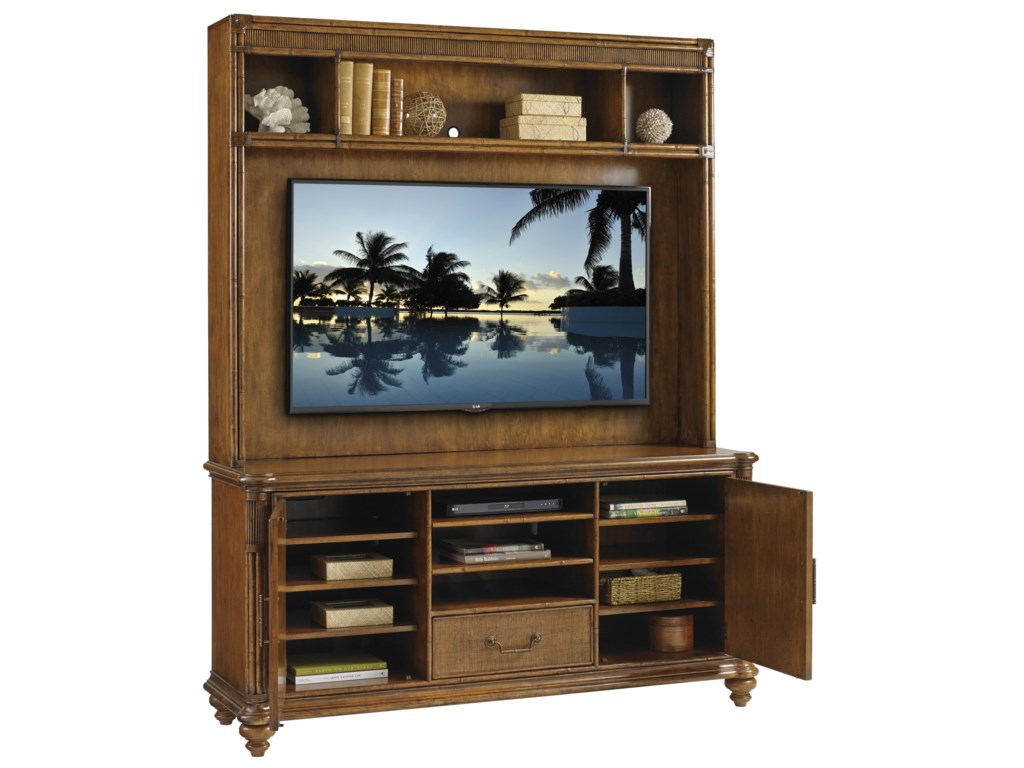 Tommy Bahama Home Bali HaiPelican Cay Media Console and Hutch