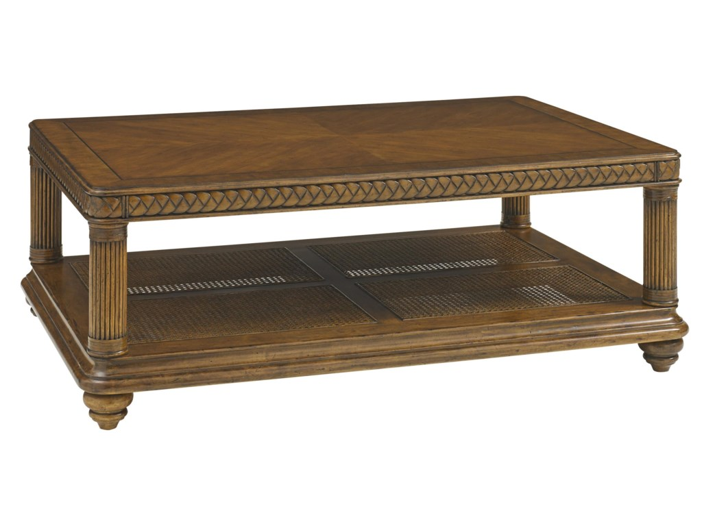 Tommy Bahama Home Bali HaiVinyard Point Rectangular Cocktail Table
