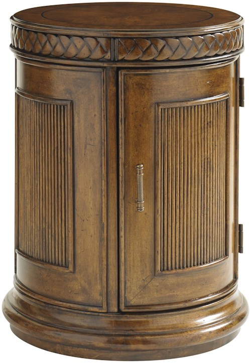 Tommy Bahama Home Bali Hai Belize Round End Table