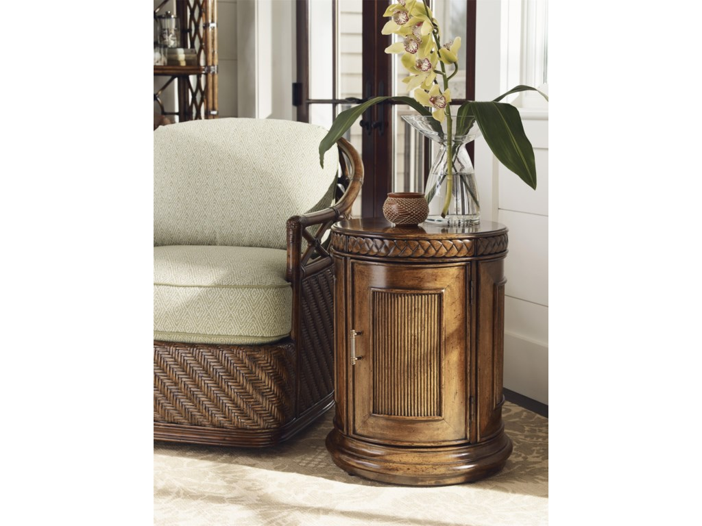 Tommy Bahama Home Bali HaiBelize Round End Table
