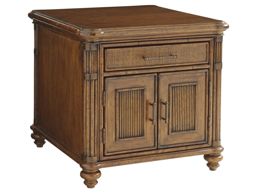 Tommy Bahama Home Bali HaiMariner Storage End Table