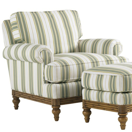 Tommy Bahama Home Beach House Golden Isle Upholstered Chair