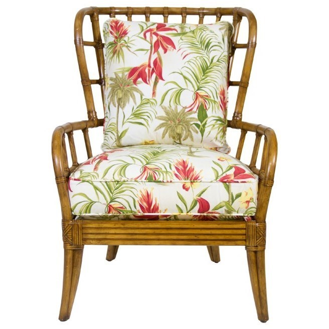 Tommy Bahama Home Beach House Sunset Cove Chair   C. S. Wo U0026 Sons  California   Exposed Wood Chairs