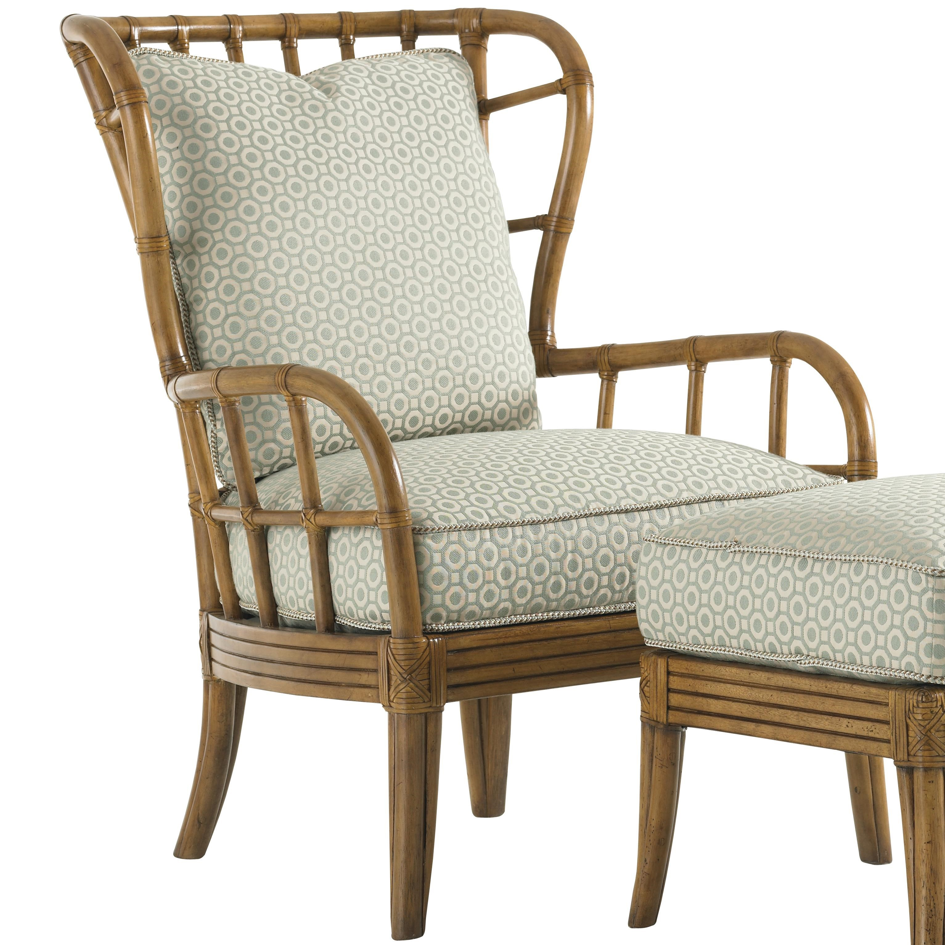 Delicieux Tommy Bahama Home Beach House Island Inspired Exposed Rattan Winged Sunset  Cove Chair