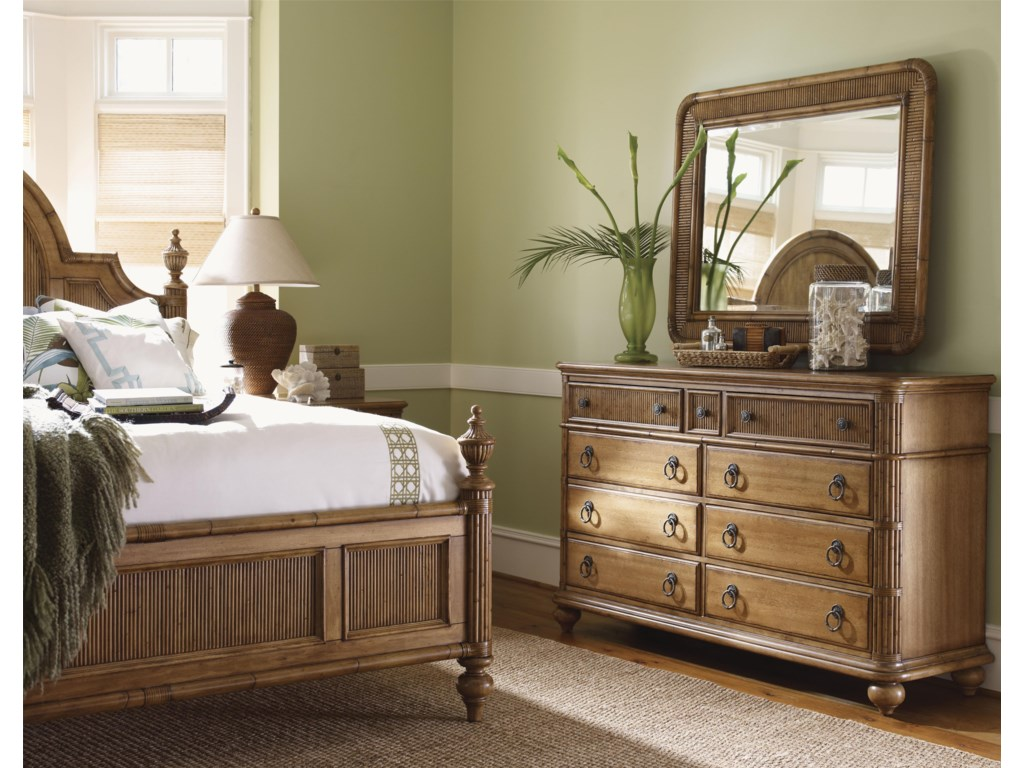 Shown with Osprey Mirror and Belle Isle Bed