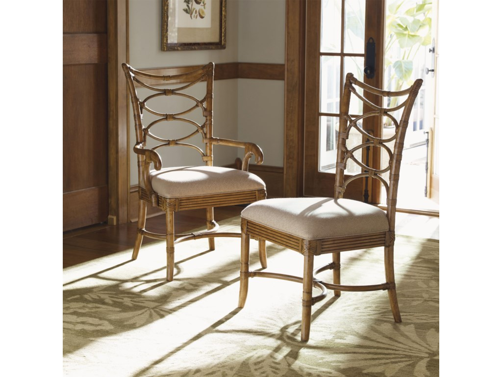 Sanibel Arm and Side Chairs