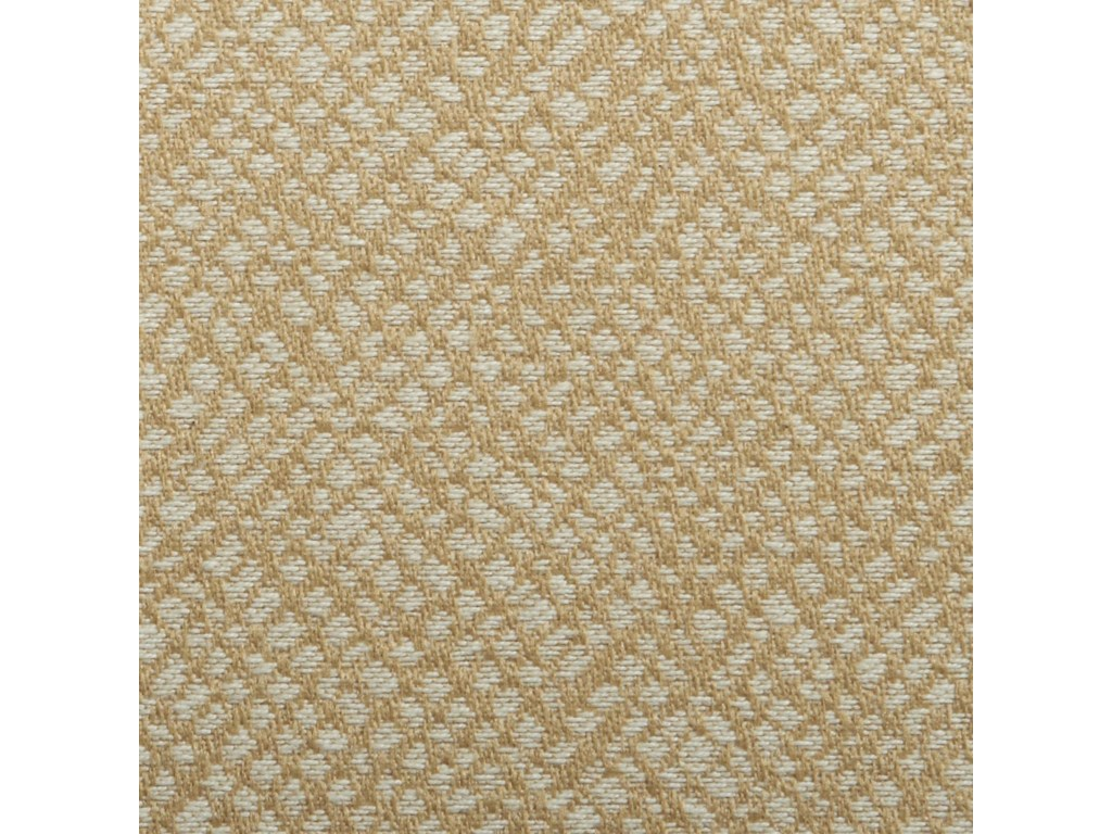 Upholstered in Seascape - A Soft Sand and Ivory Colored Woven Fabric with a Slight Texture