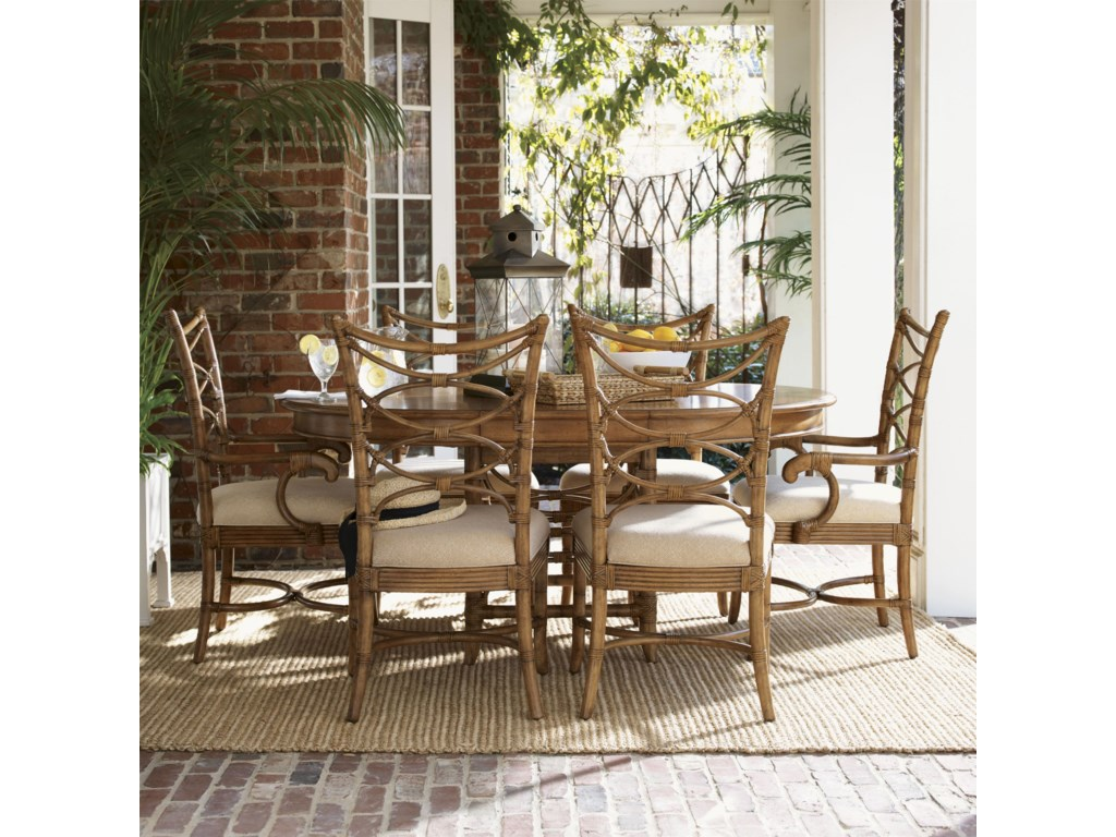 Shown with Coconut Grove Dining Table and Sanibel Arm Chairs