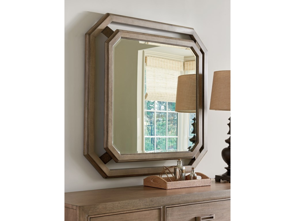 Tommy Bahama Home Cypress PointCallan Square Mirror