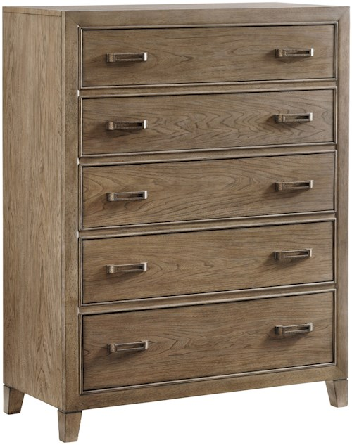 Tommy Bahama Home Cypress Point Brookdale Five Drawer Chest