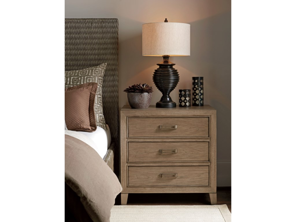 Tommy Bahama Home Cypress PointMcClellan Drawer Nightstand