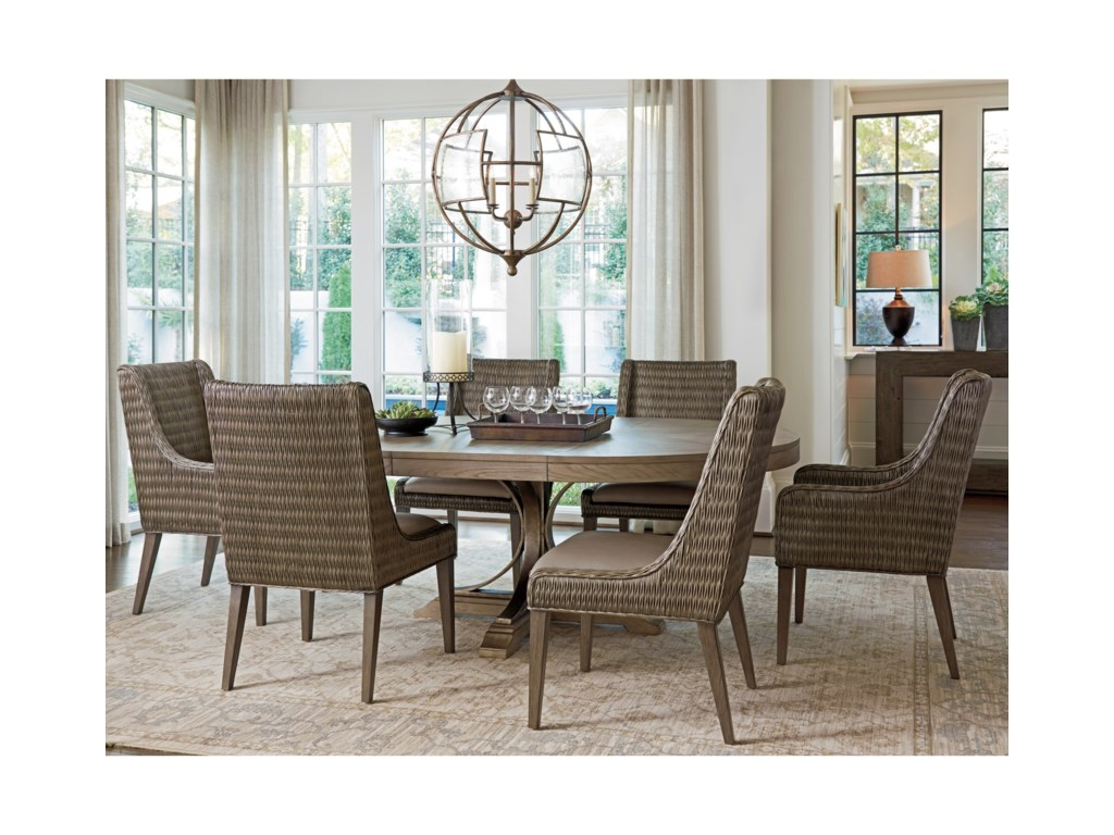 Tommy Bahama Home Cypress PointAtwell Round Dining Table