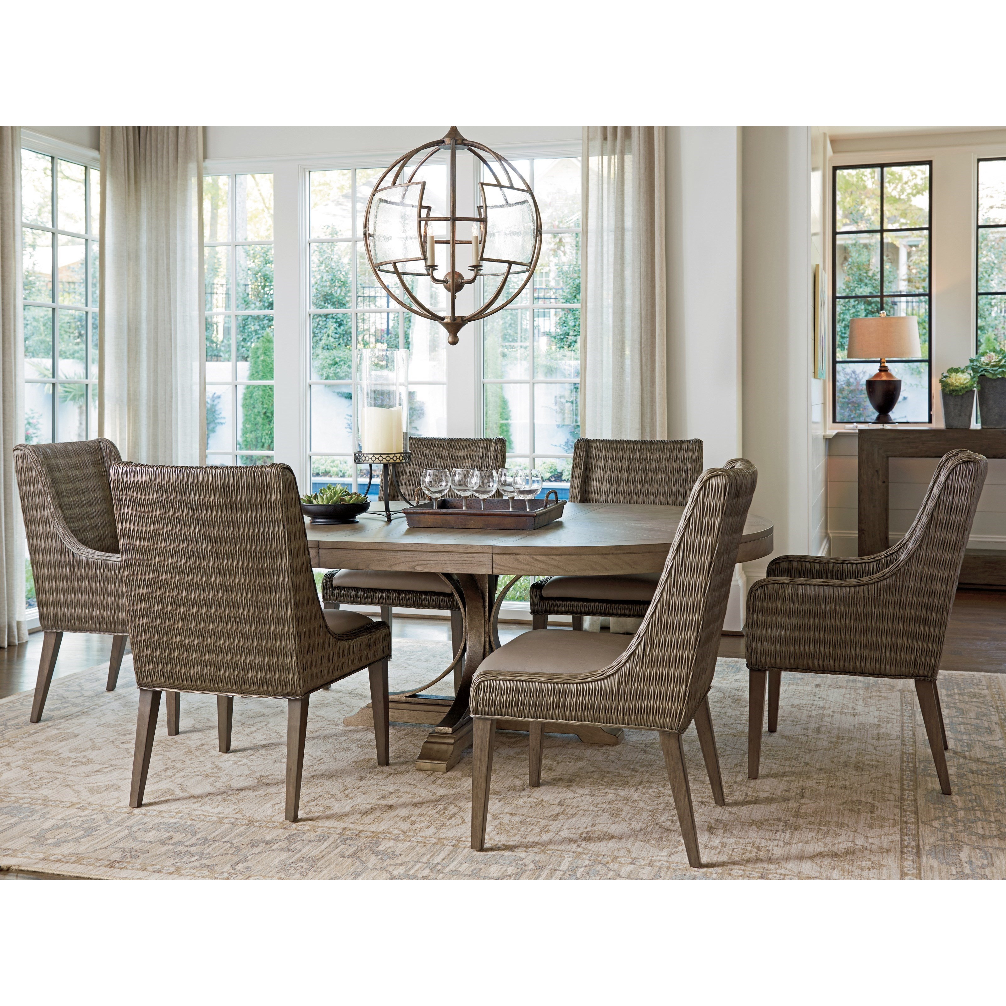 Tommy Bahama Home Cypress Point 561 875C Atwell Round Dining ...